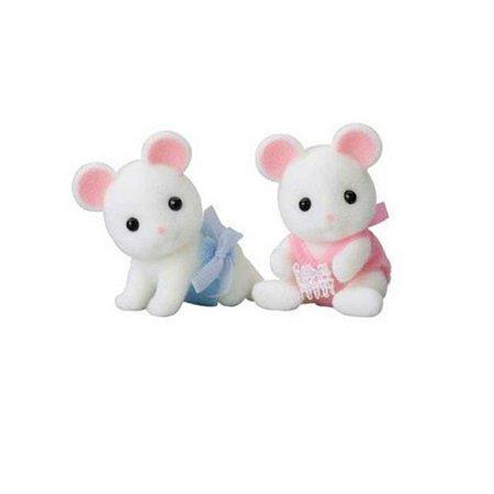 Набор Sylvanian Families Белые мышата двойняшки 3221