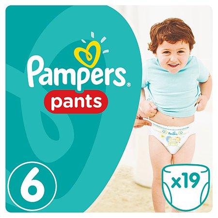 Подгузники-трусики Pampers Pants Средняя 16+кг 19шт