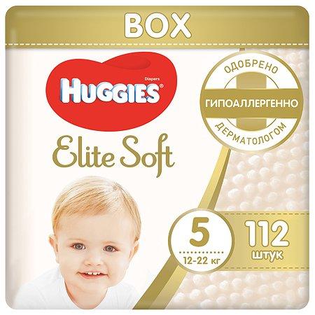 Подгузники Huggies Elite Soft 5 12-22кг 112шт