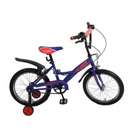 """Велосипед Navigator Basic 18"""" сине-красный"""