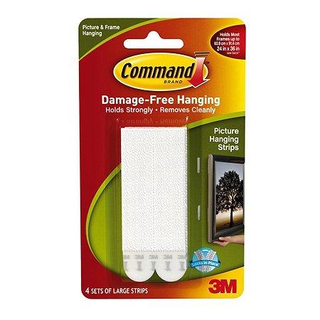 Застежки для картин 3M Command 17206  большие (4шт)