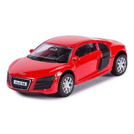 Машинка Mobicaro Audi R8 V10 1:64 Красная