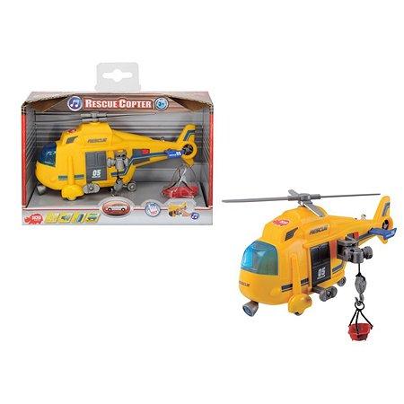 Вертолет функциональный Dickie 18 см со светом и звуком
