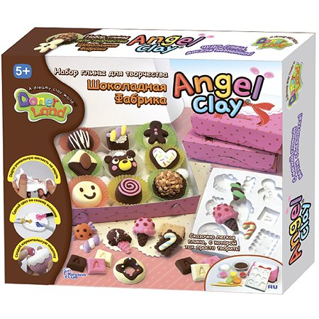 Набор для лепки Angel Clay Sweet Chocolate