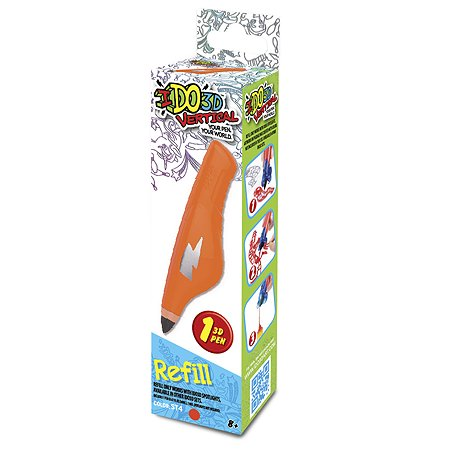 Картридж для ручки 3D Redwood 3D Вертикаль Оранжевый 156045