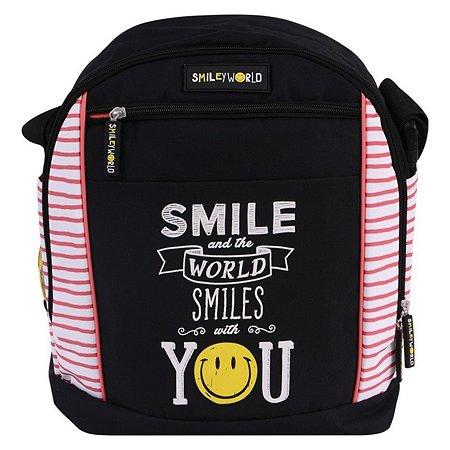 Сумка-рюкзак Proff 2 в 1 Smile (черно-розовый)