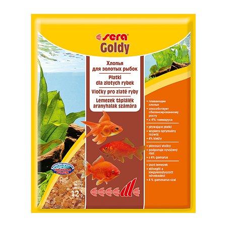 Корм для золотых рыб Sera Goldy хлопья 12г