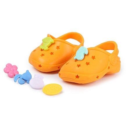Обувь для куклы Zapf Creation Baby born Сандали фантазийные Оранжевые 824-597