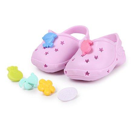 Обувь для куклы Zapf Creation Baby born Сандали фантазийные Лиловые 824-597