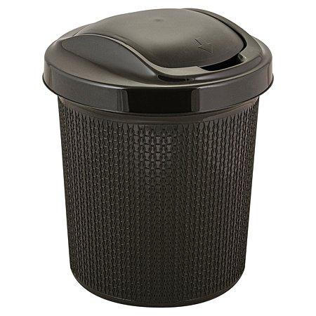 Контейнер для мусора SVIP Ajur 12л Венге