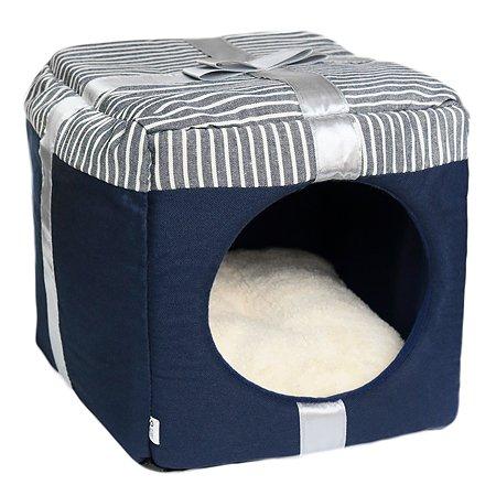 Домик для кошек Не Один Дома Лучший подарок 860119-03BLA1sq Не один дома