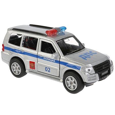 Машина Технопарк Mitsubishi Pajero Полиция инерционная 256374