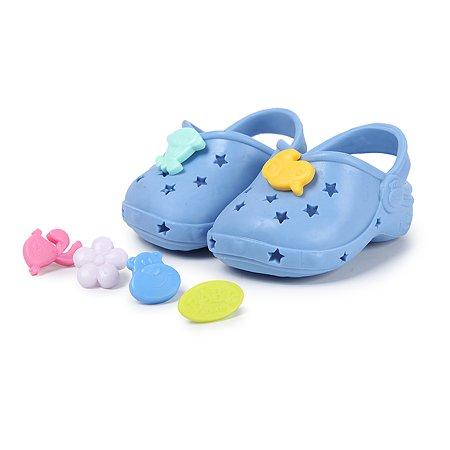Обувь для куклы Zapf Creation Baby born Сандали фантазийные Синие 824-597