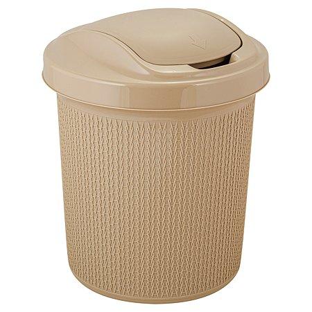 Контейнер для мусора SVIP Ajur 12л Кофейный