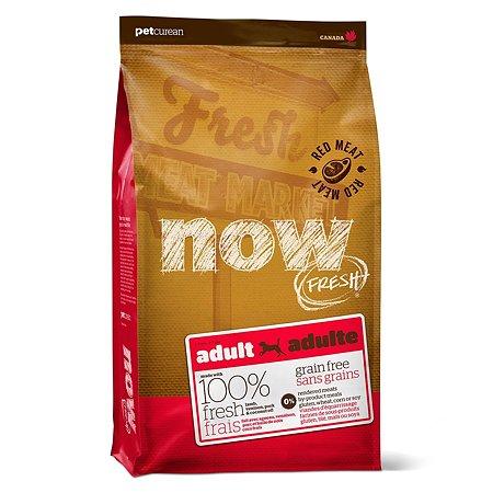 Корм для собак Now Fresh беззерновой с олениной и ягненком сухой 2.72кг