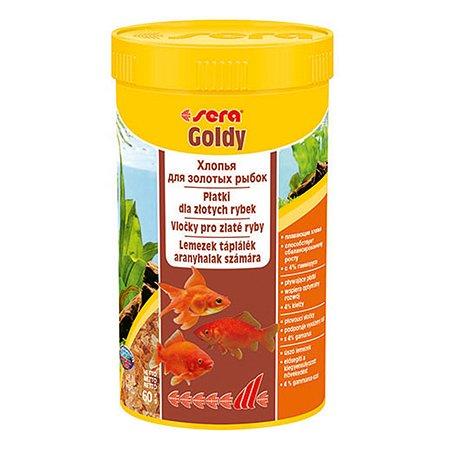 Корм для золотых рыб Sera Goldy хлопья 60г