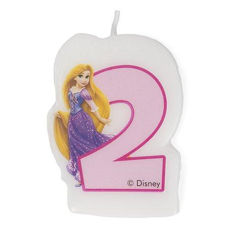 Праздничная свеча Princess Dreaming Цифра 2