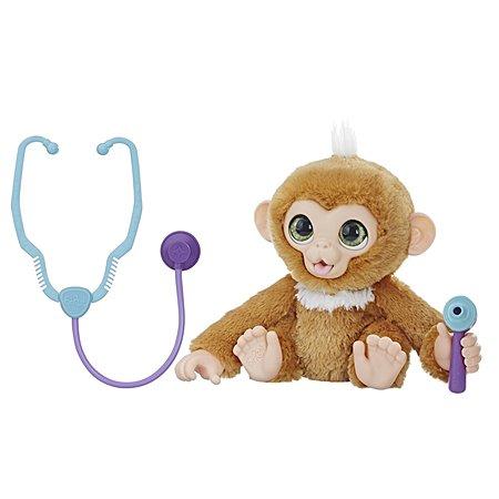 Игрушка мягкая FurReal Friends Вылечи обезьянку E0367EU4