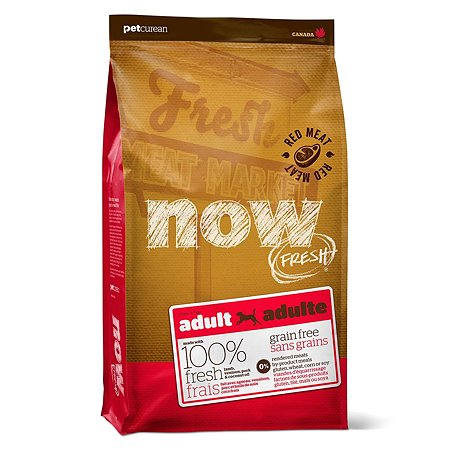 Корм для собак Now Fresh беззерновой с олениной и ягненком сухой 11.3кг