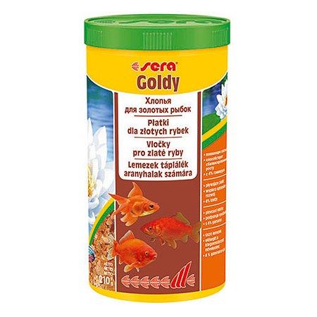 Корм для золотых рыб Sera Goldy хлопья 210г