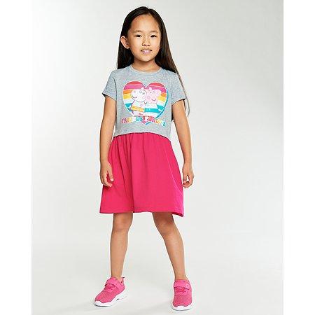 Платье Peppa Pig розовое