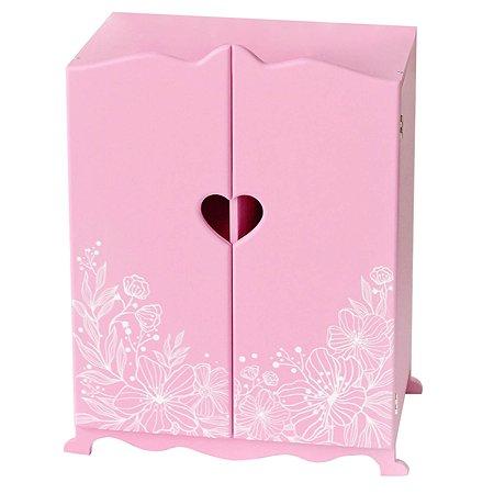 Мебель для кукол PAREMO Шкаф Розовый PFD120-58