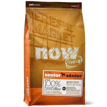 Корм для собак Now Fresh беззерновой с индейкой уткой и овощами для контроля веса сухой 2.72кг
