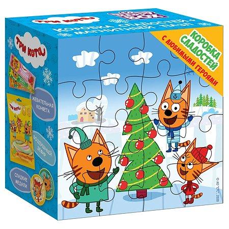 Набор подарочный Три кота Happy Box 243г