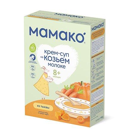 Крем-суп Мамако из тыквы на козьем молоке 150г с 8месяцев