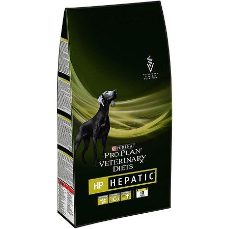 Корм для собак Purina Pro Plan Veterinary diets HP при заболеваниях печени 3кг