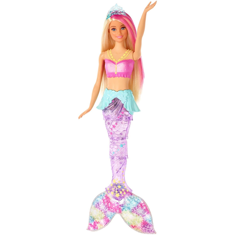 Кукла русалка светится хвост цена купить ткани в симферополе