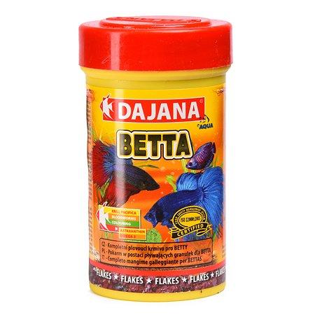 Корм для рыб DAJANA Betta Хлопья 100мл DP014A