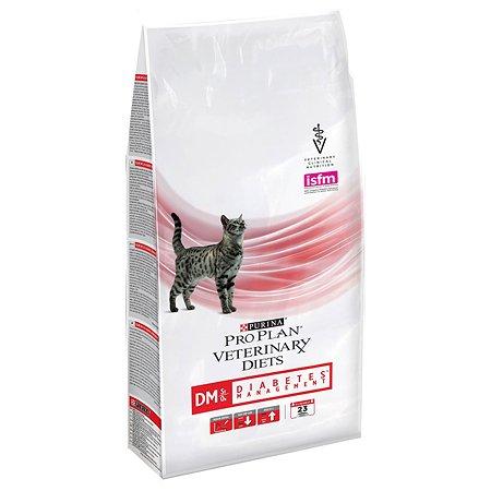 Корм для кошек Purina Pro Plan Veterinary diets DM при диабете 1.5 кг