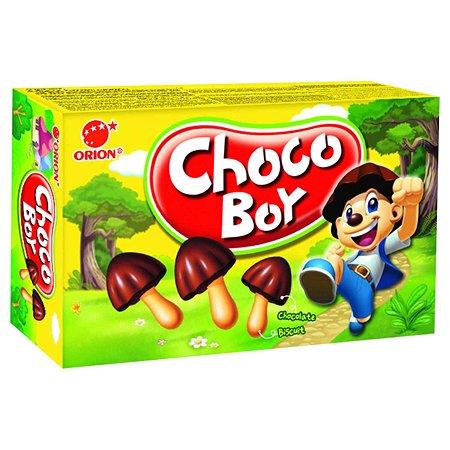 Печенье CHOCO-BOY с молочным шоколадом 45г