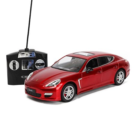 Машинка Mobicaro РУ 1:14 Porsche Panamera Красная YS249575-R