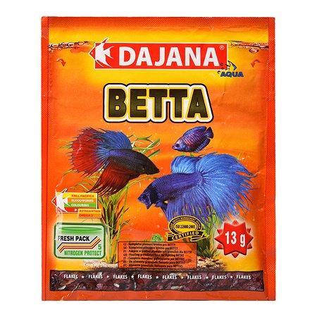 Корм для рыб DAJANA Betta Хлопья 80мл DP014S