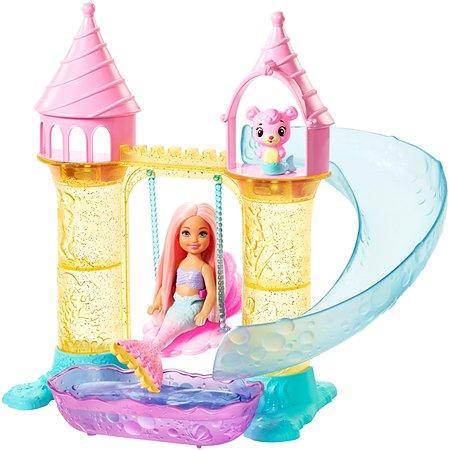 Набор игровой Barbie Dreamtopia с русалочкой Челси FXT20