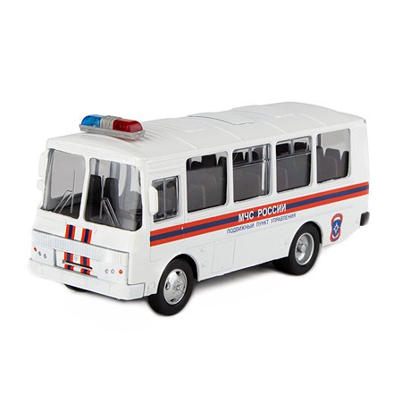 Машинка AUTOGRAND ПАЗ-32053 МЧС 1 43 49025