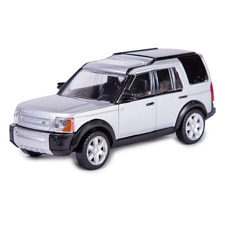 Машинка Rastar Land Rover 1:43 Серебряная