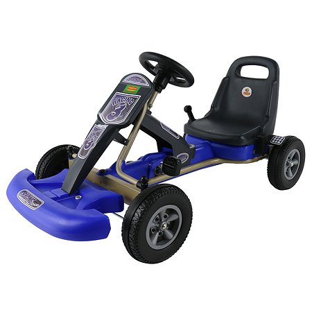 Каталка-автомобиль Полесье с педалями Карт