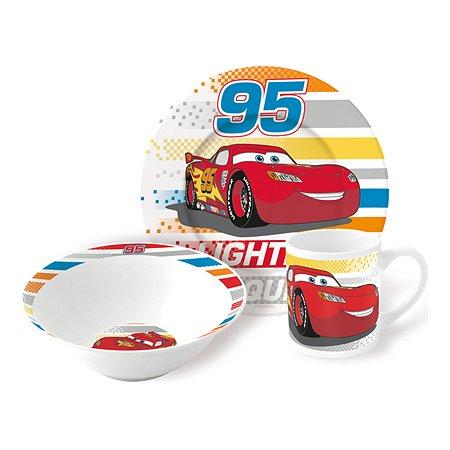 Набор керамической посуды STOR в подарочной упаковке Snack Set Cars Radiator Springs (3 шт.)