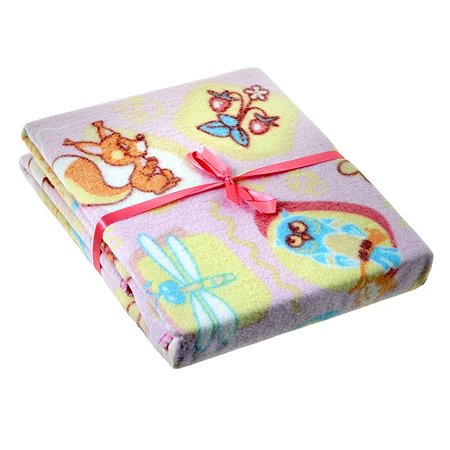Одеяло байковое ОТК (отделка оверлок) 100х118