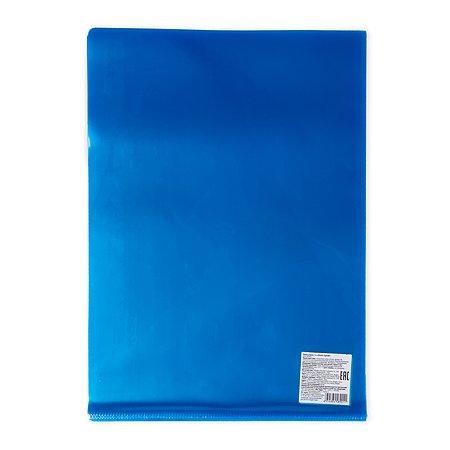 Папка-уголок Erhaft прозрачная Cиняя MF0901