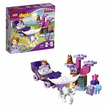 Конструктор LEGO DUPLO Sofia the Firs Волшебная карета Софии Прекрасной (10822)