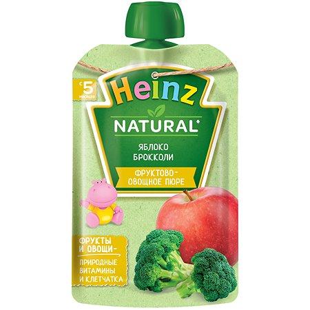 Пюре Heinz яблоко-брокколи 90г с 5месяцев