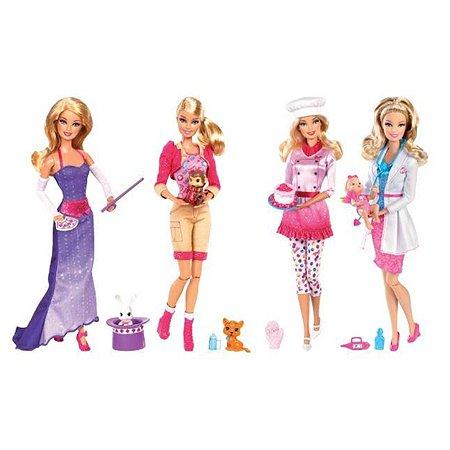 Кукла Barbie Barbie Серия Кем быть? куклы в ассортименте