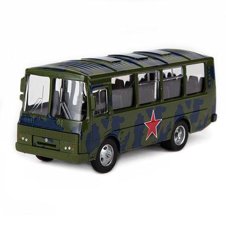 Машинка AUTOGRAND ПАЗ-32053 армейский 1 43 49027