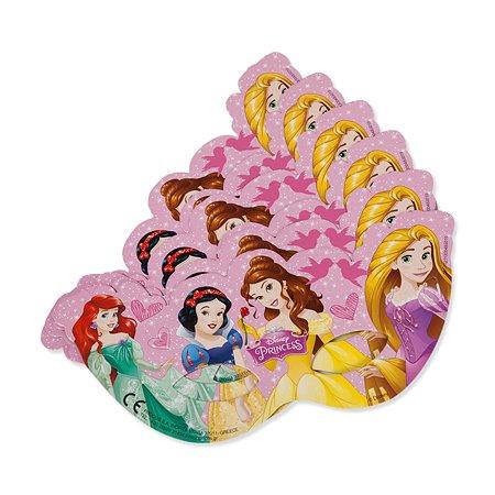 Праздничная маска Disney Princess 6 шт