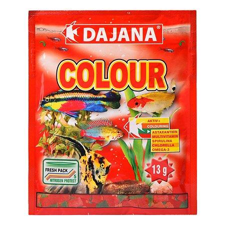 Корм для рыб DAJANA Colour Flakes Хлопья 80мл DP002S
