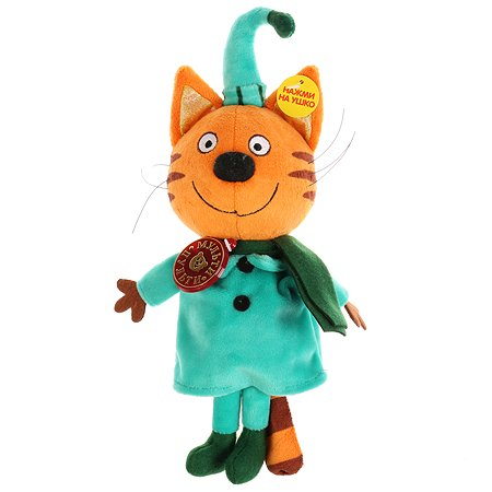 Игрушка мягкая Мульти-Пульти Три кота Компот в зимней одежде 258343